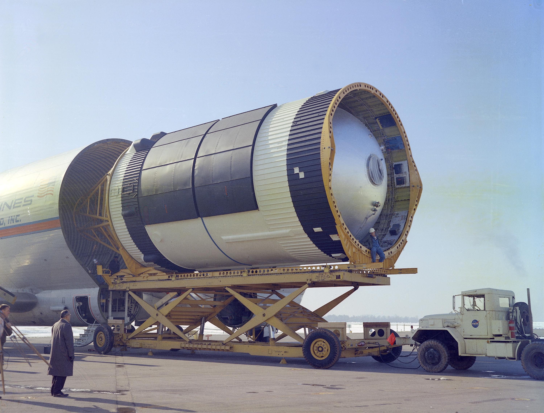 Saturn V S-IVB Stage at Redsto...
