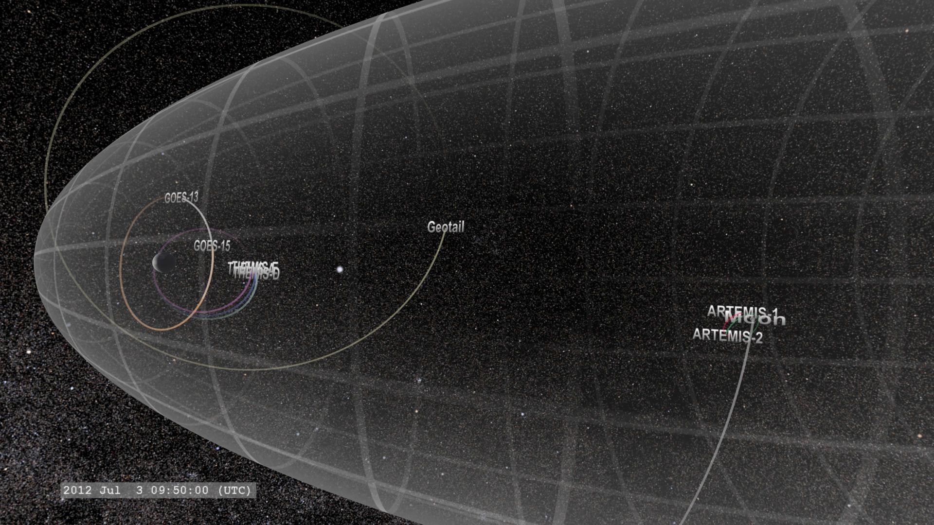 Several NASA Spacecraft Track Energy Through Space NASA - Space track
