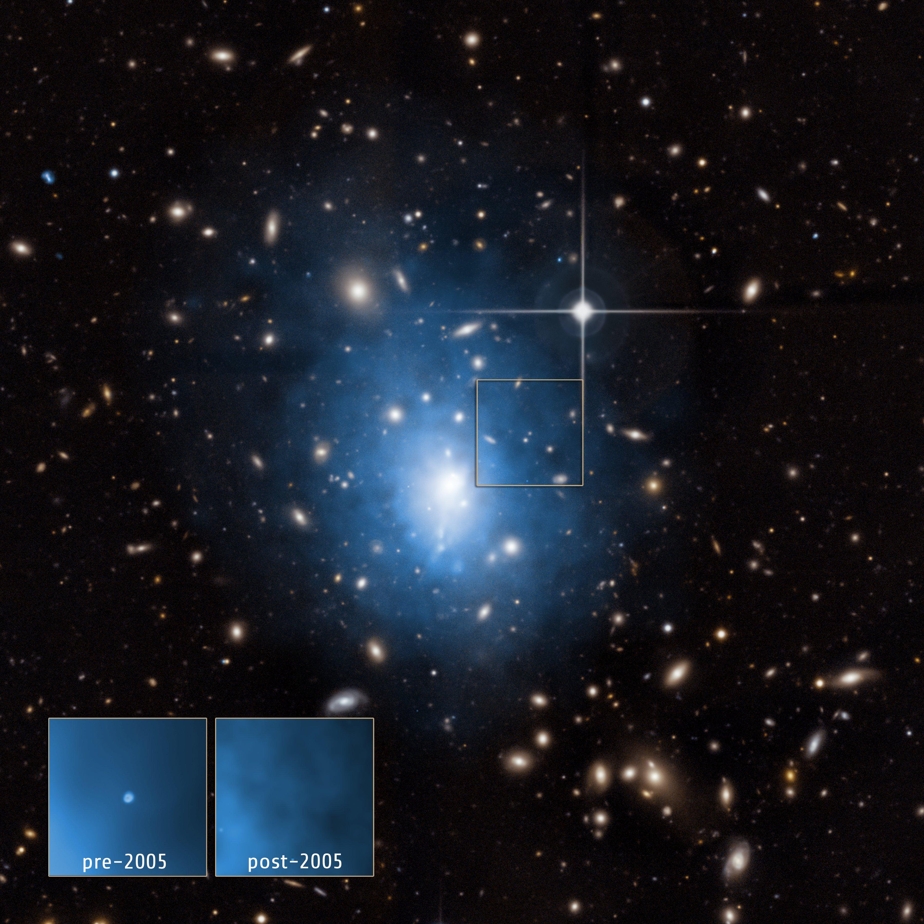 Death By Black Hole In Small Galaxy? | NASA