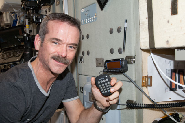 space station ariss software upgraded by student for