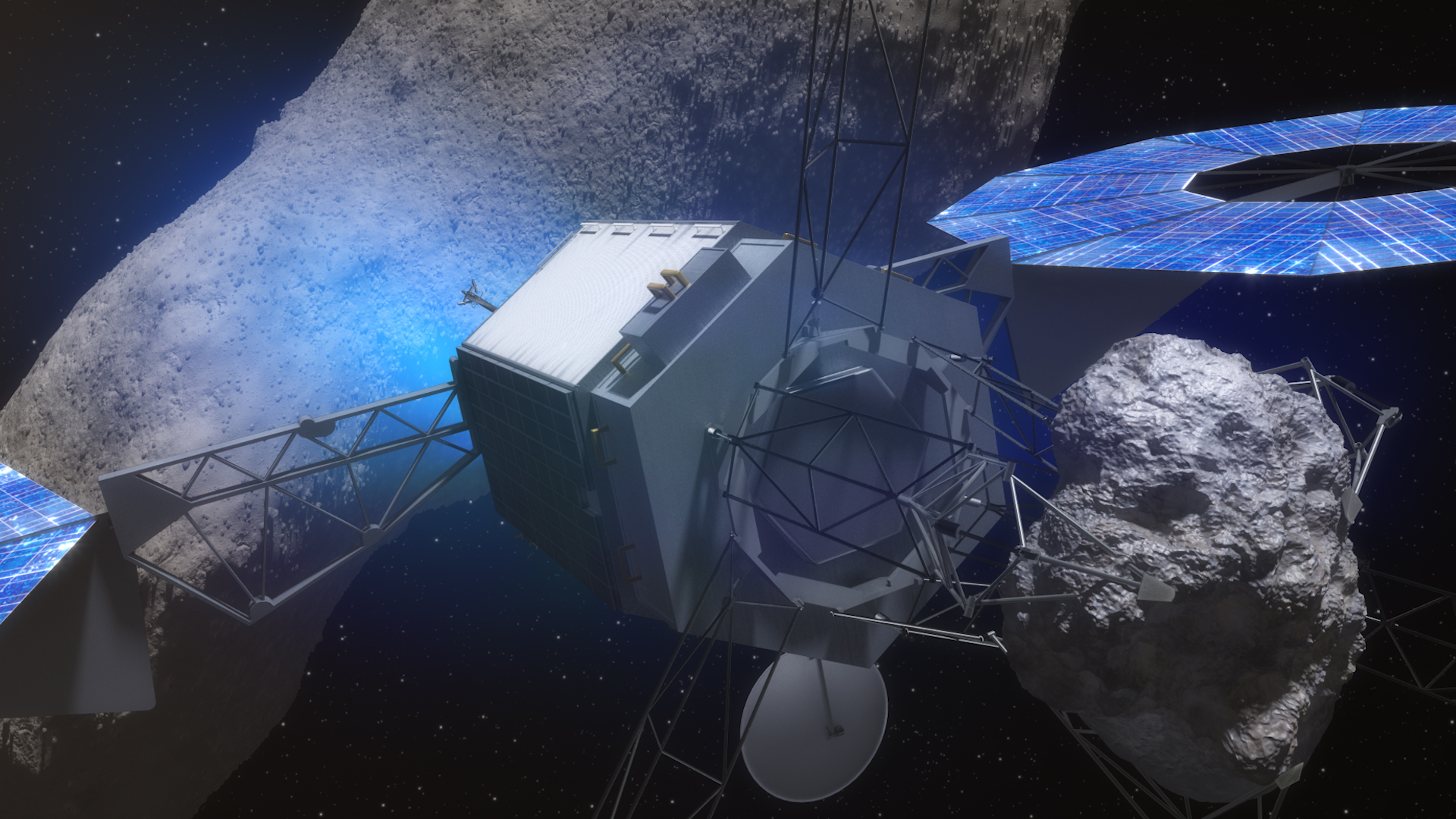 Resources in space that directly benefit humans?