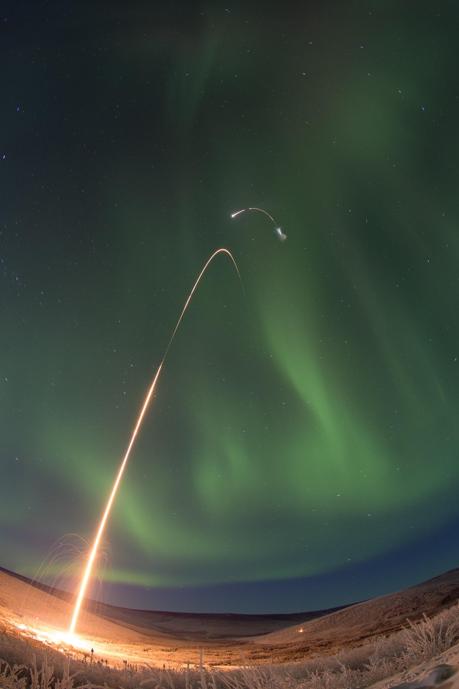ASSP Sounding Rocket Launches Successfully from Alaska   NASA