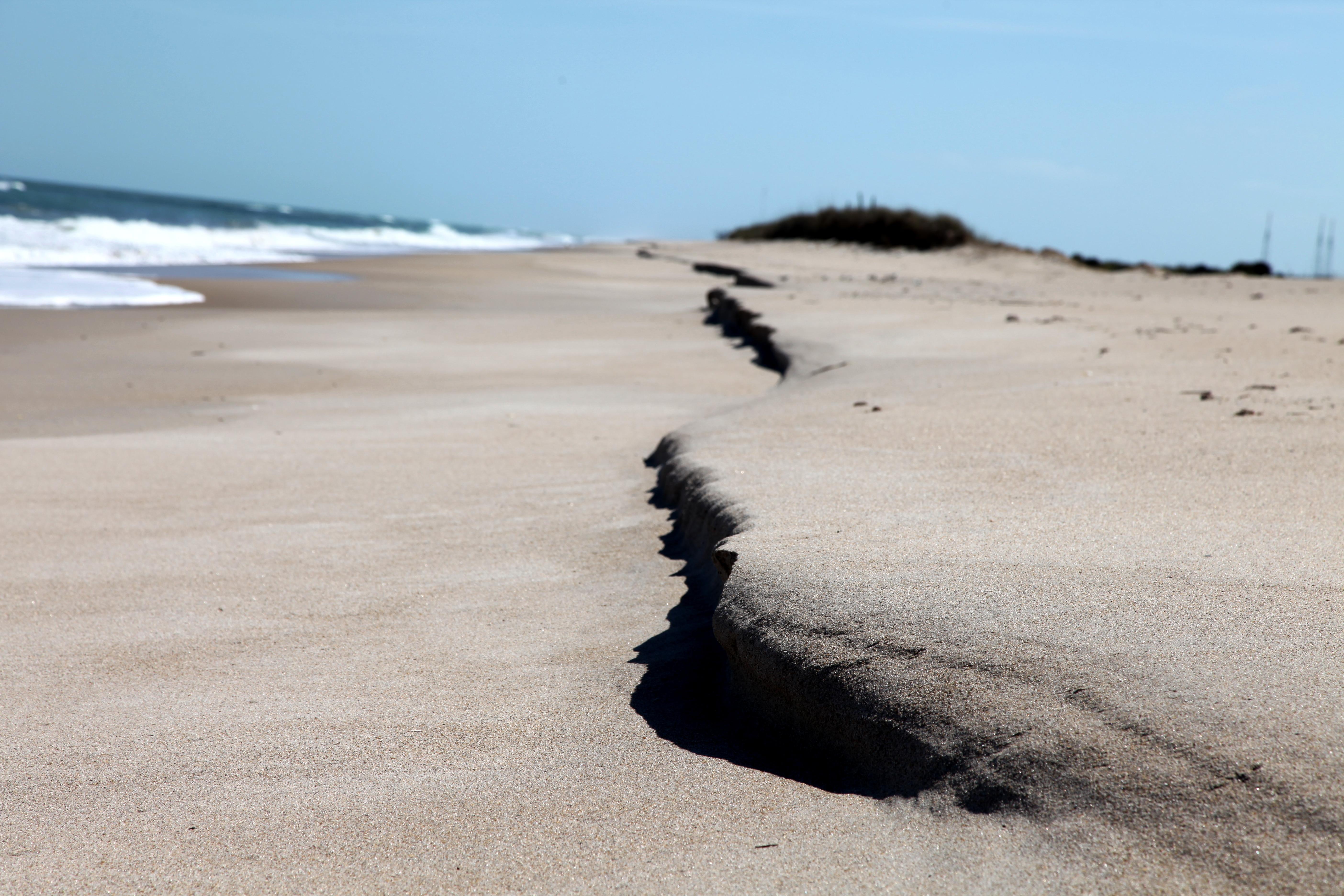 Beach Erosion In Florida