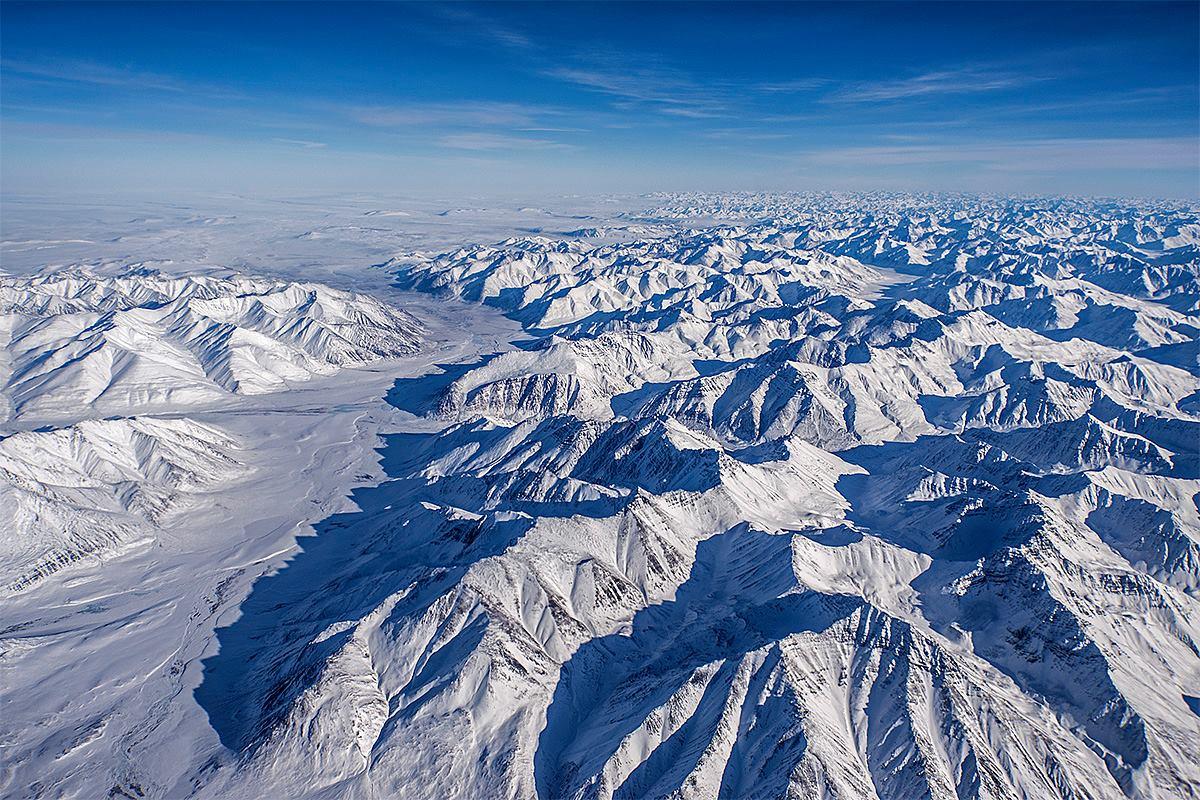 Alaska's Brooks Range   NASA