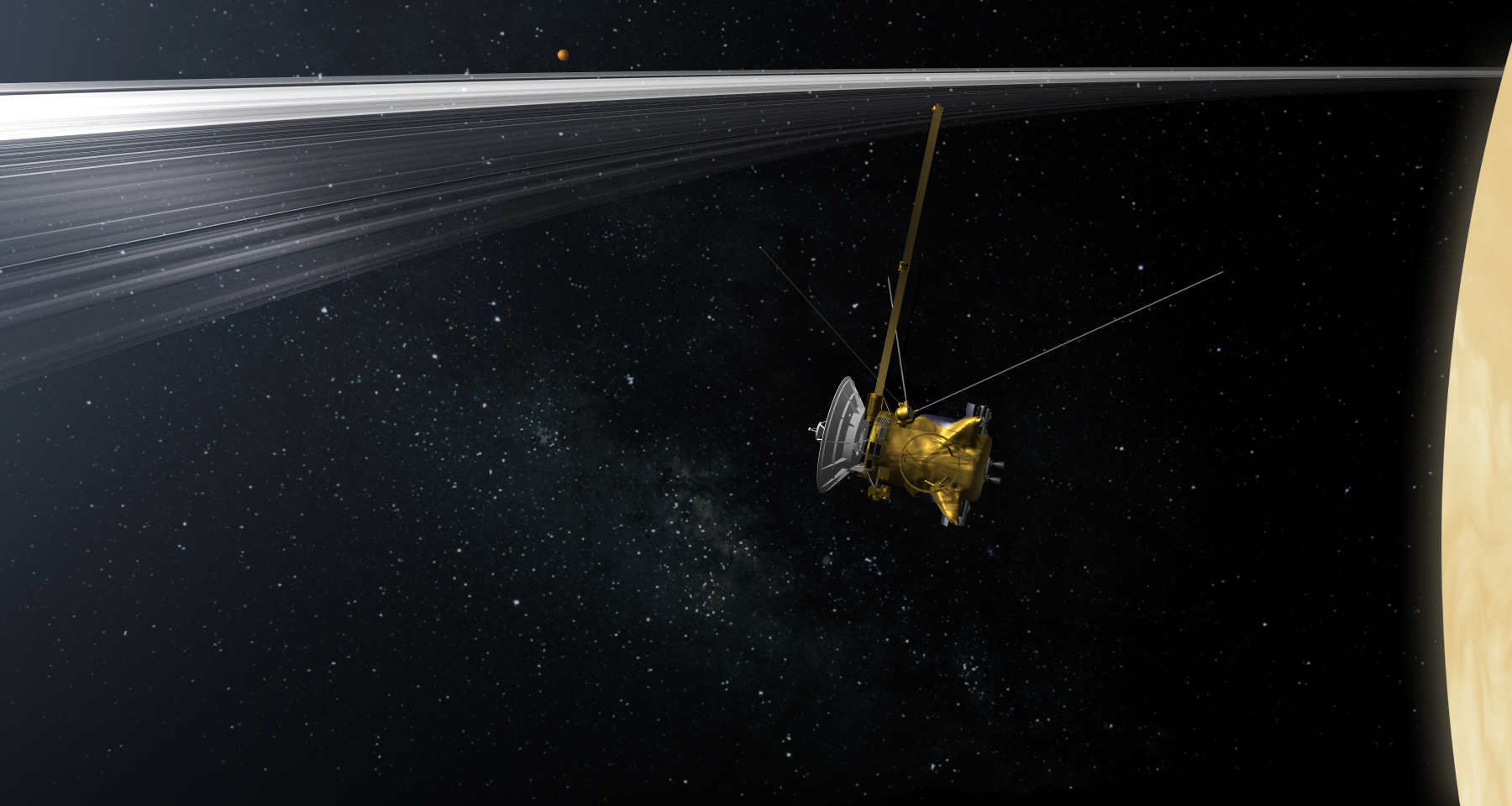 Cassini Mission Timeline of Nasa 39 s Cassini Mission