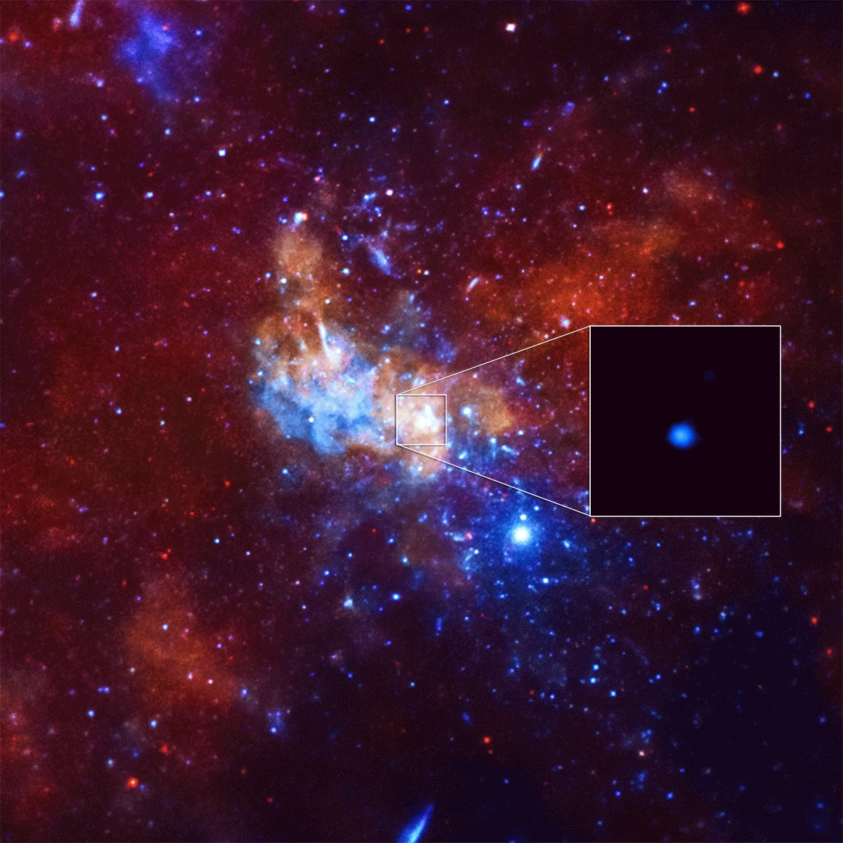black hole chandra x ray - photo #13