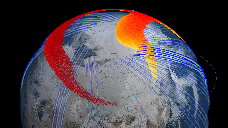 NASA Tracks Chelyabinsk Meteor Plume   NASA
