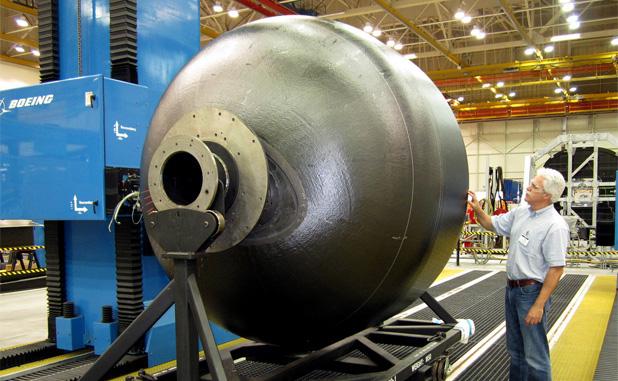 Nasa Tests Game Changing Composite Cryogenic Fuel Tank Nasa