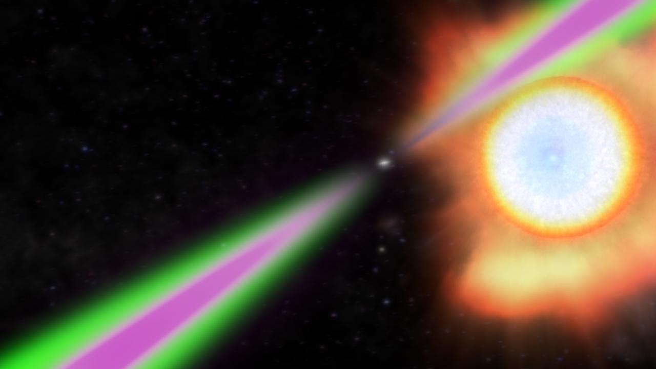 39 spidery 39 pulsars consume their mates nasa - Vendre des photos de star ...