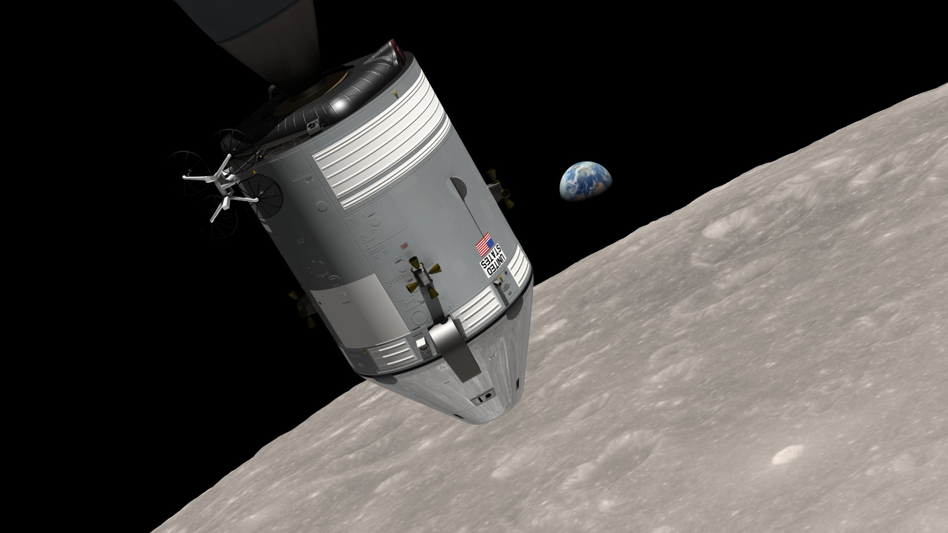 NASA Releases New Earthrise Simulation Video | NASA