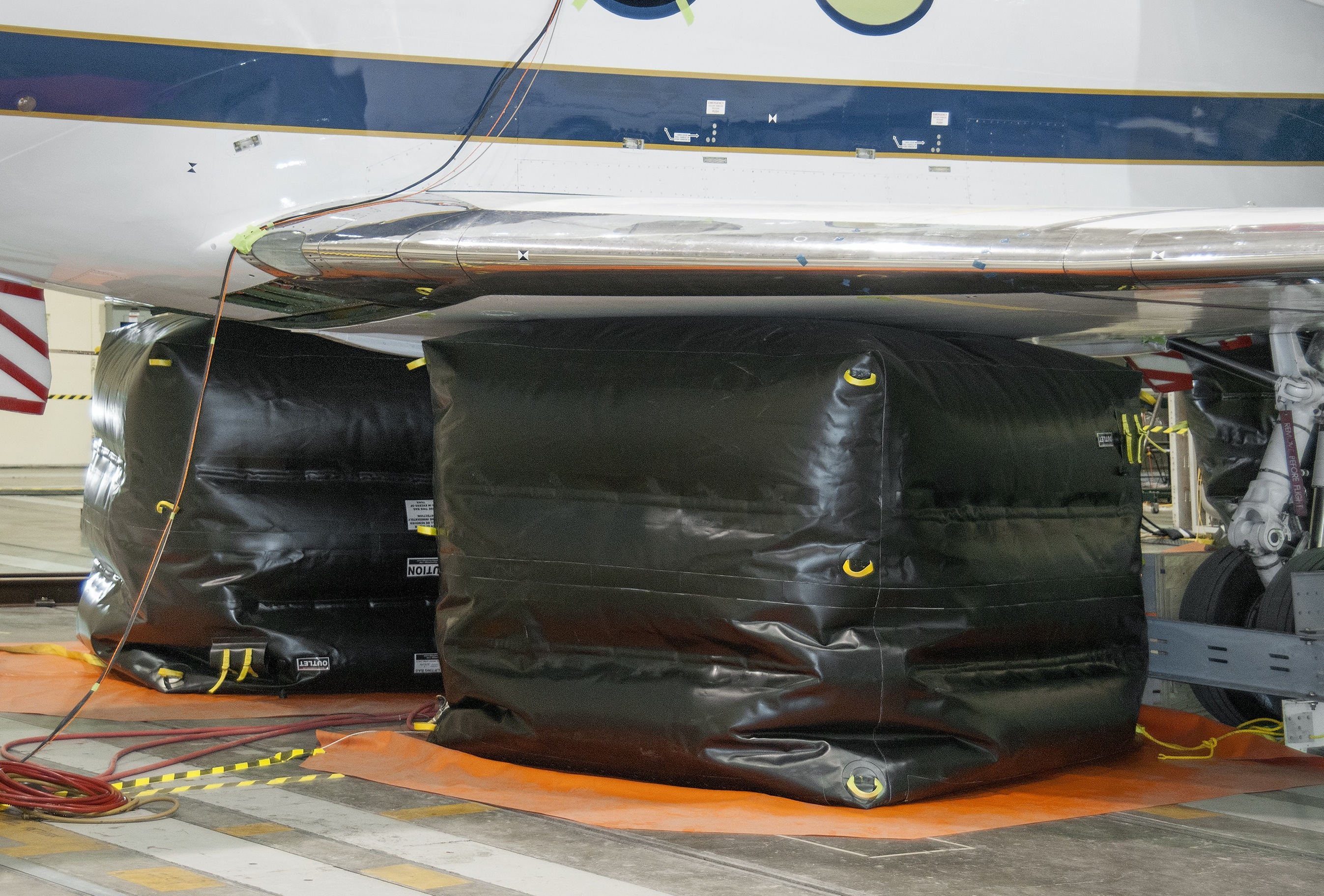 Airbags Take the Weight in G-III ACTE Loads Tests | NASA