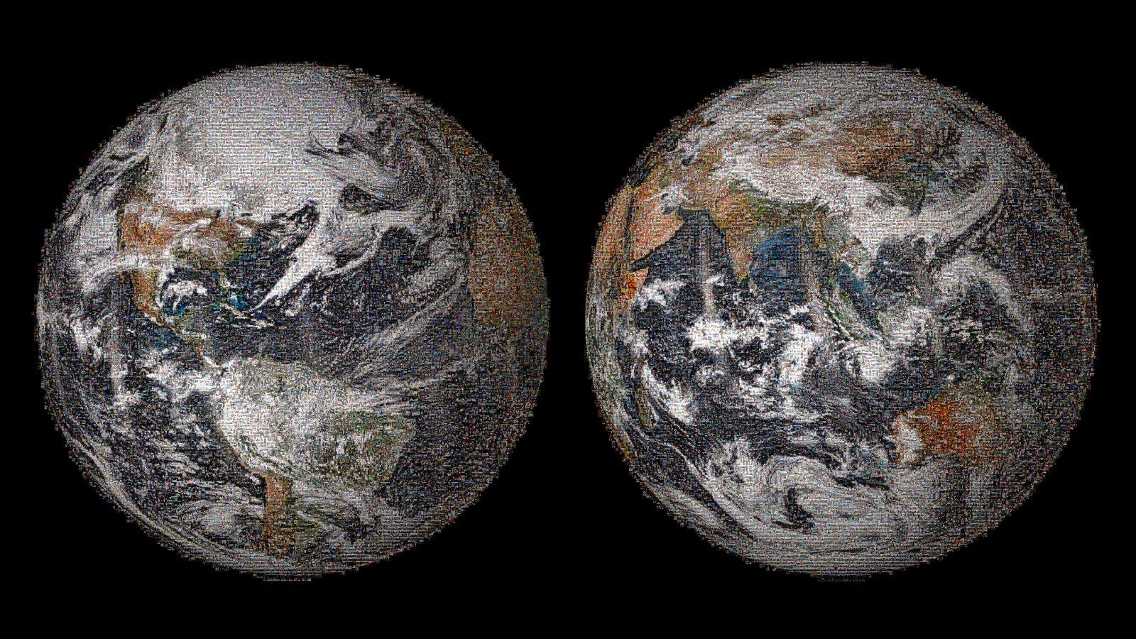 Bild der Erde; copyright: NASA