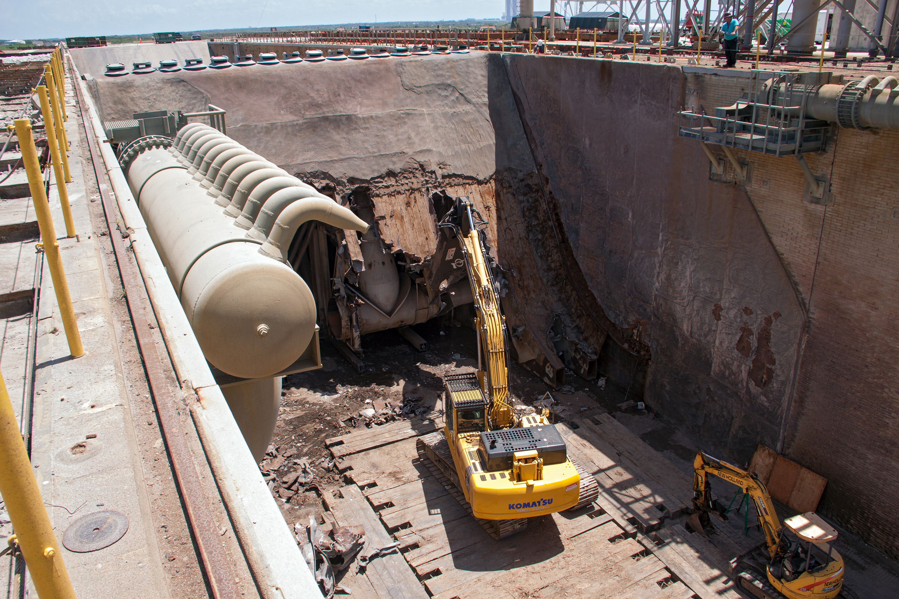 New Flame Trench will Support New Era at Launch Pad 39B | NASA