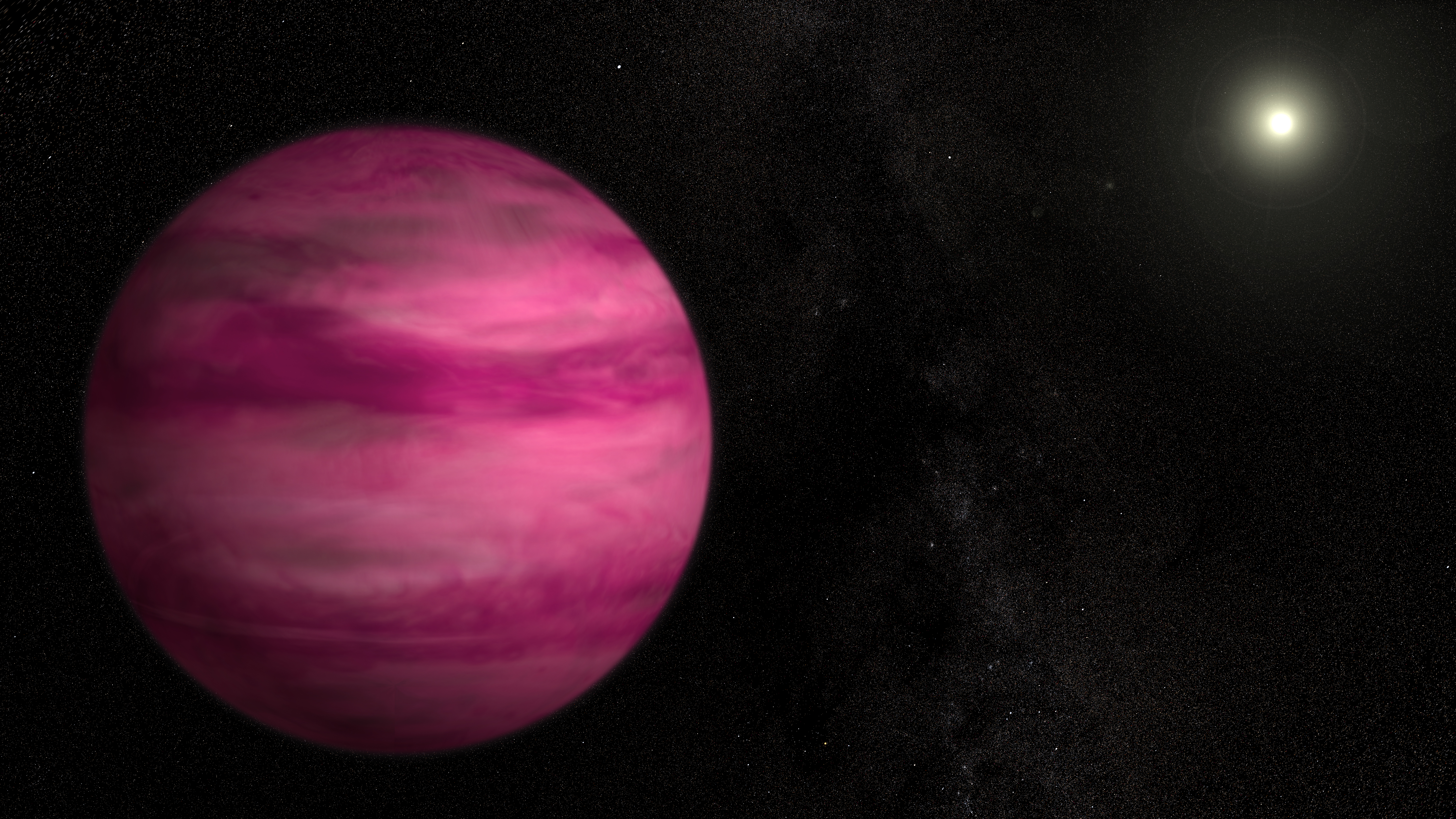 Astronomers Image Lowest Mass Exoplanet Around A Sun Like