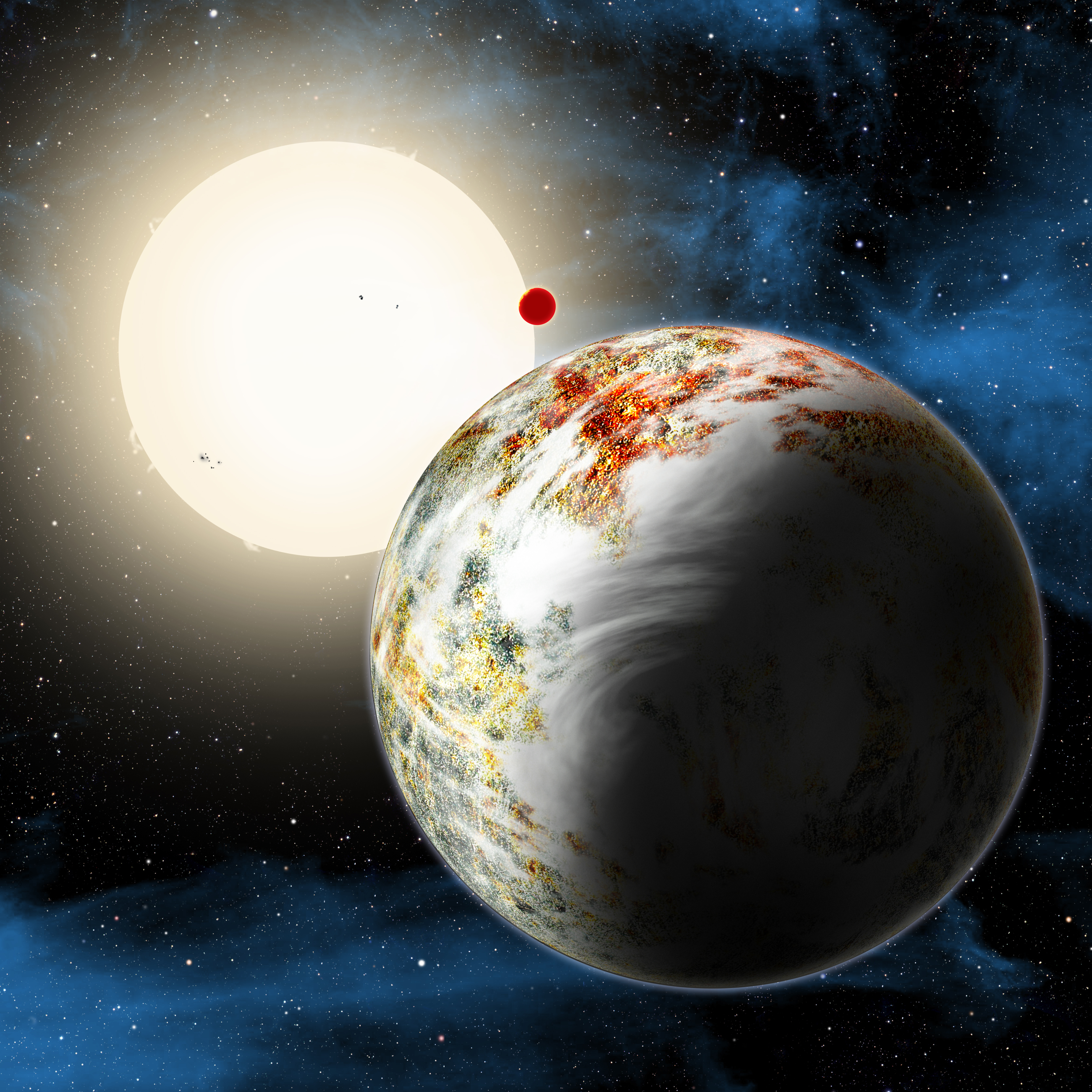 Astronomers Confounded By Massive Rocky World