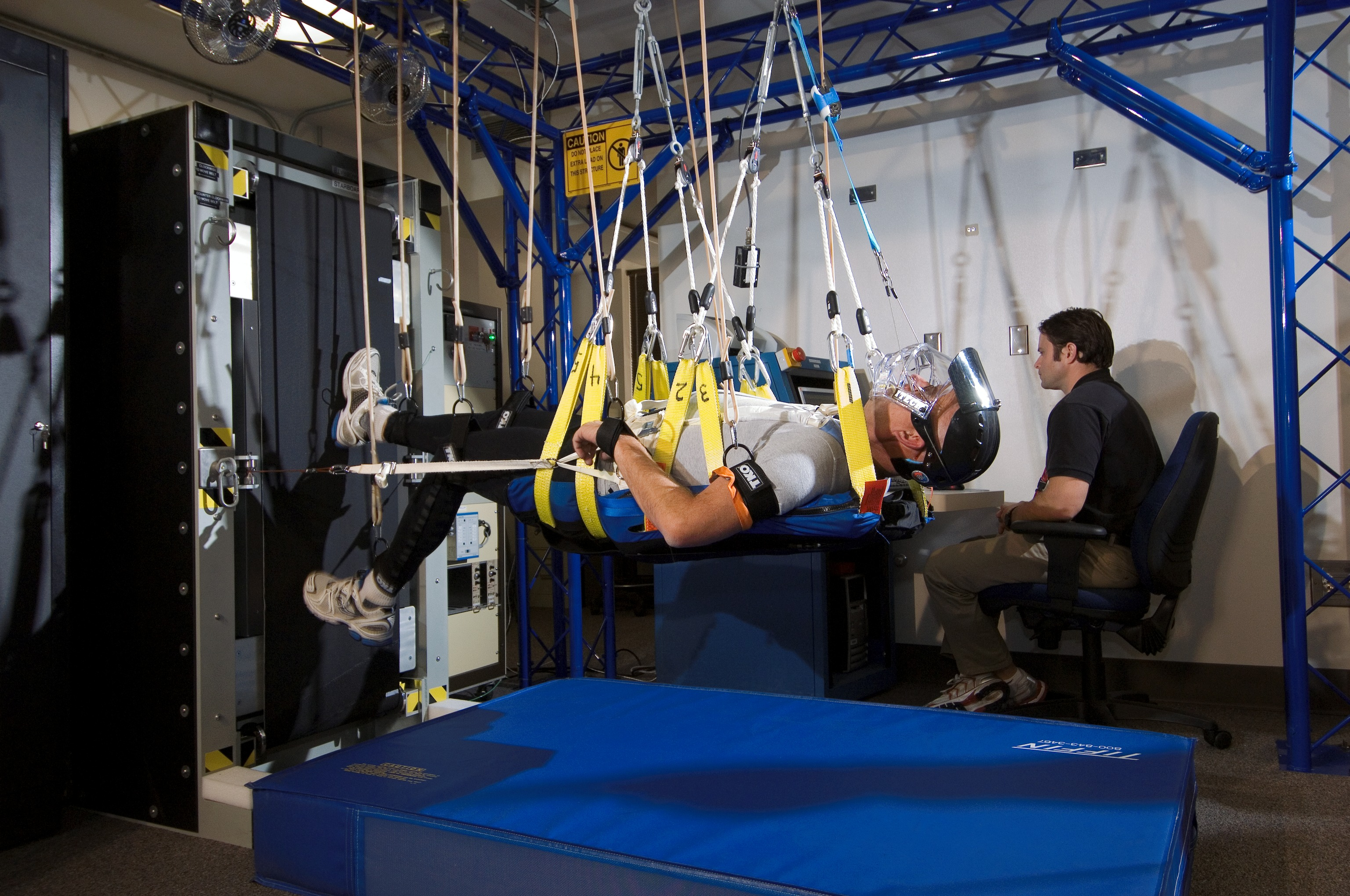 Bedrest Exercise Treadmill Nasa