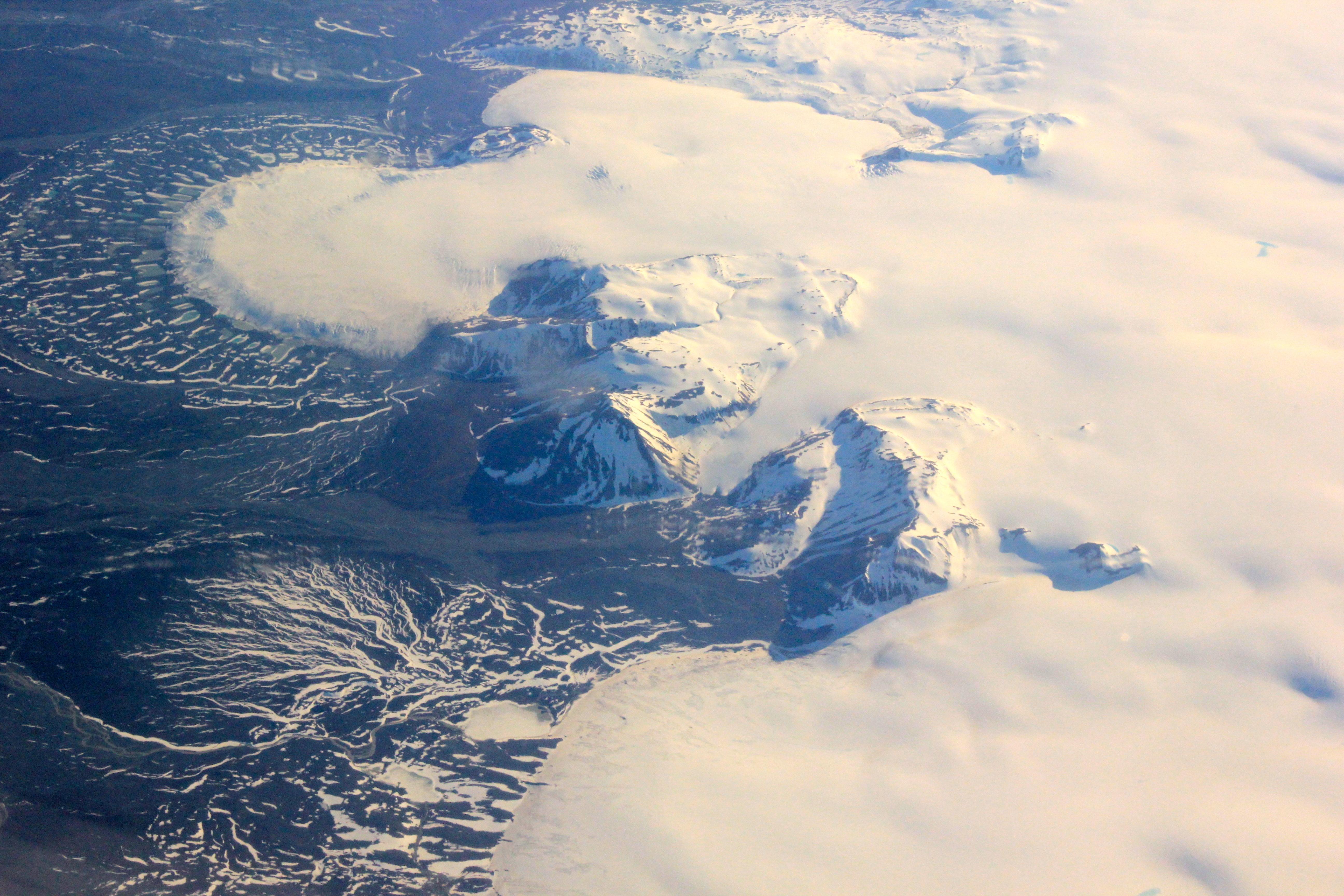 Nasa Radar Maps The Winter Pace Of Iceland S Glaciers Nasa