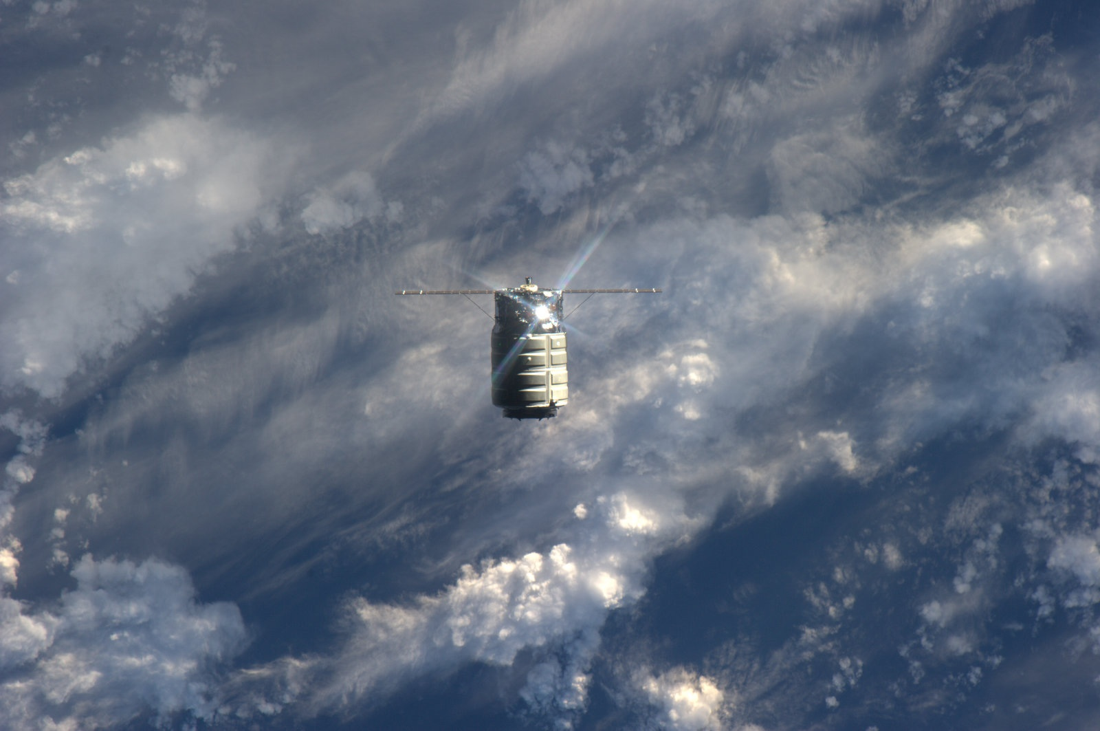 Cygnus Arrives at the Space Station | NASA