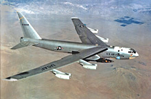 B-52 carrying X-15
