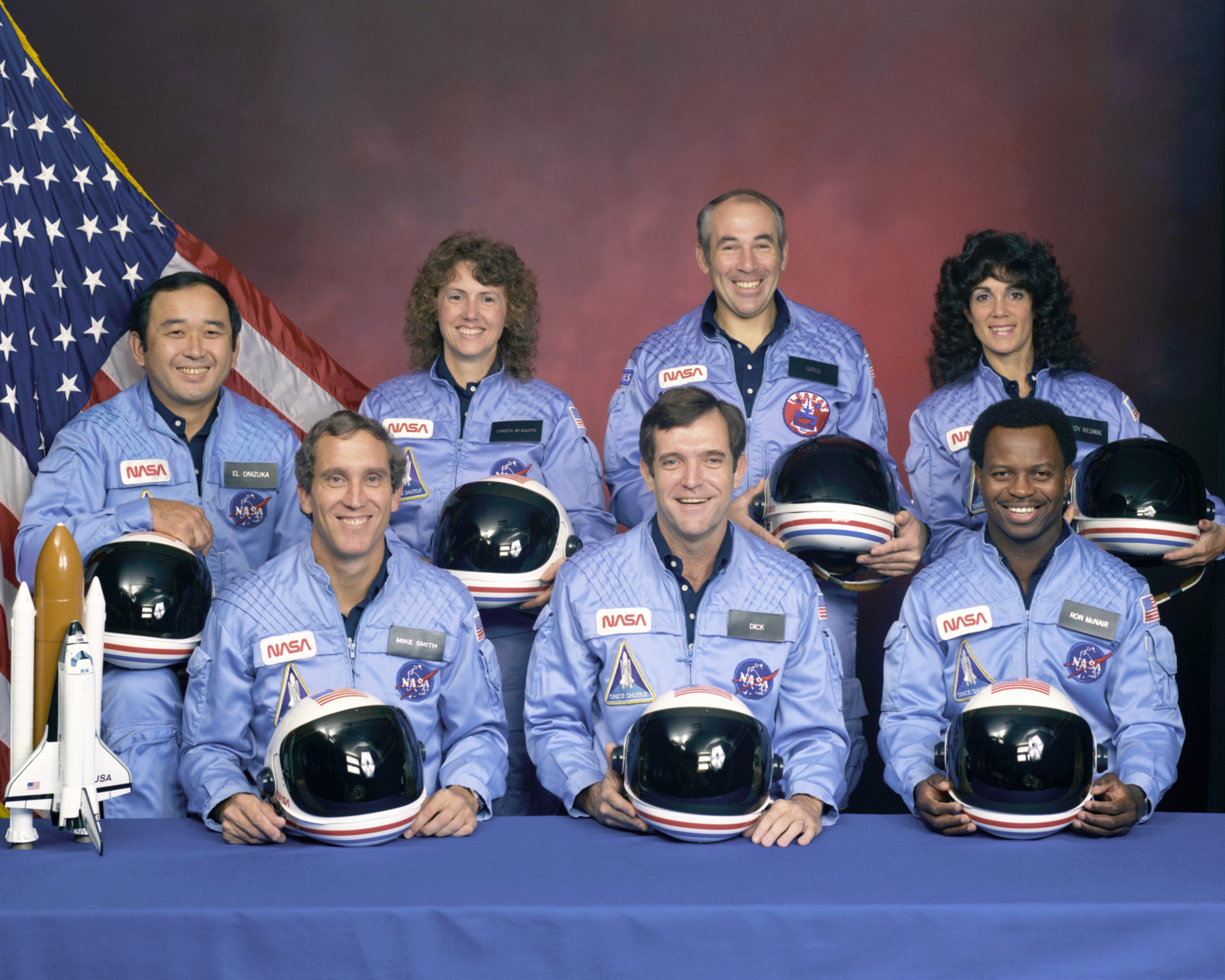 Image result for challenger crew