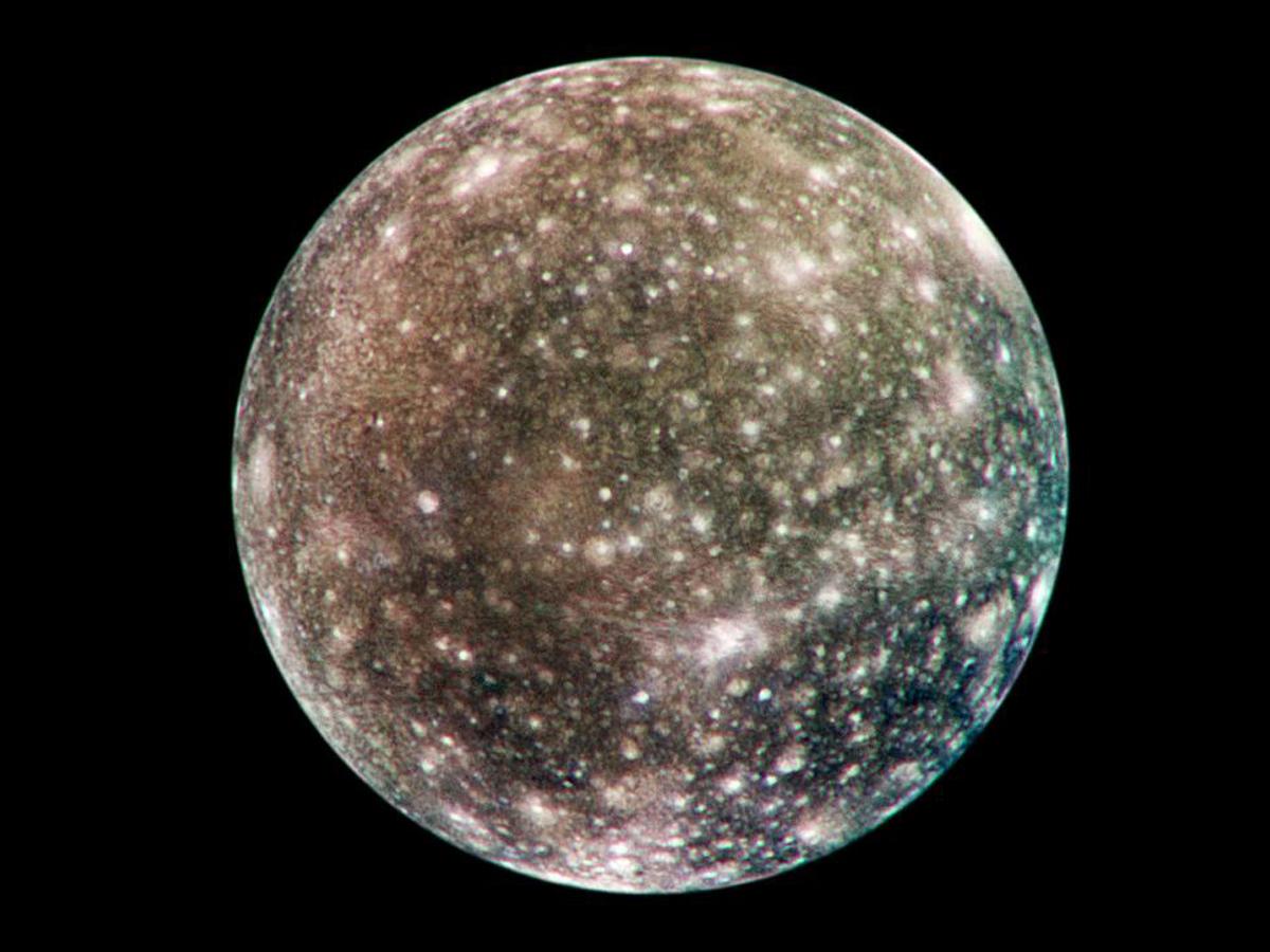 Global Callisto in Color   NASA