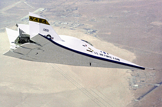 X-24B in flight