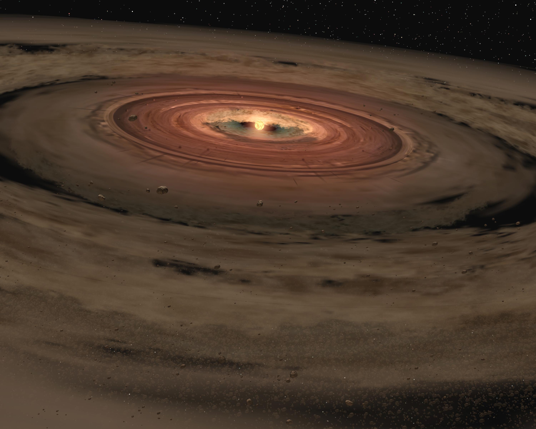 ti precedenti alla formazione di pianeti Credits: NASA/JPL