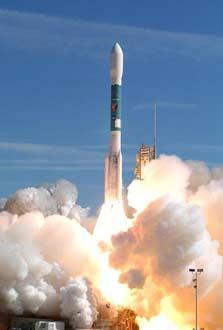 Delta II rocket launch