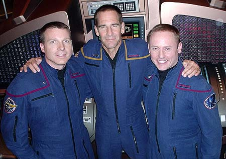 Astronaut Terry Virts, Actor Scott Bakula and Astronaut Mike Fincke
