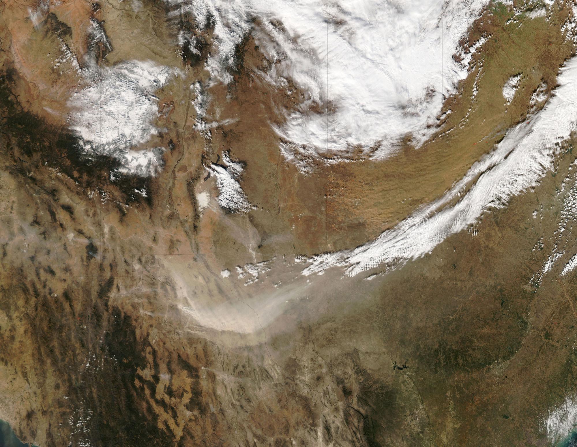 dust storms nasa - photo #23