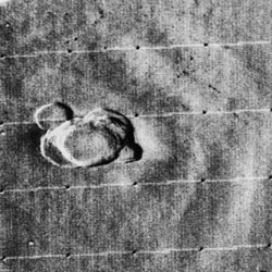 Mariner 9 view of Olympus Mons