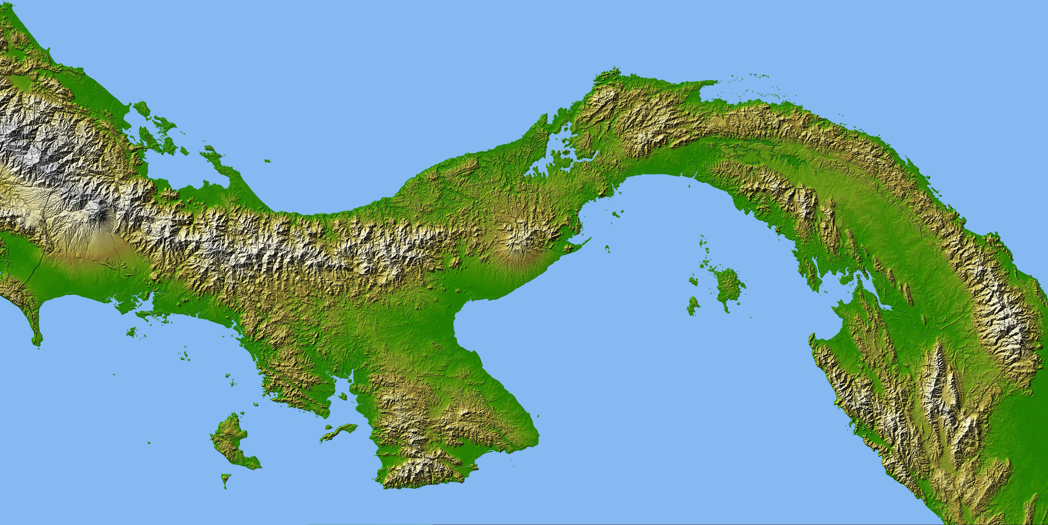 Picture of: Panama Isthmus That Changed The World Nasa