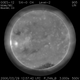 X-Ray image of the sun