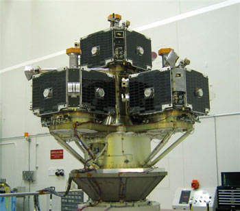photo of the THEMIS spacecraft