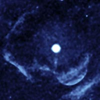 a ghostly shell of ionized gas around Z Camelopardalis