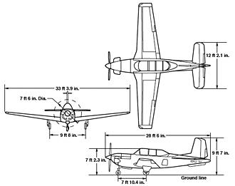 Nasa T 34c Mission Support Aircraft Nasa