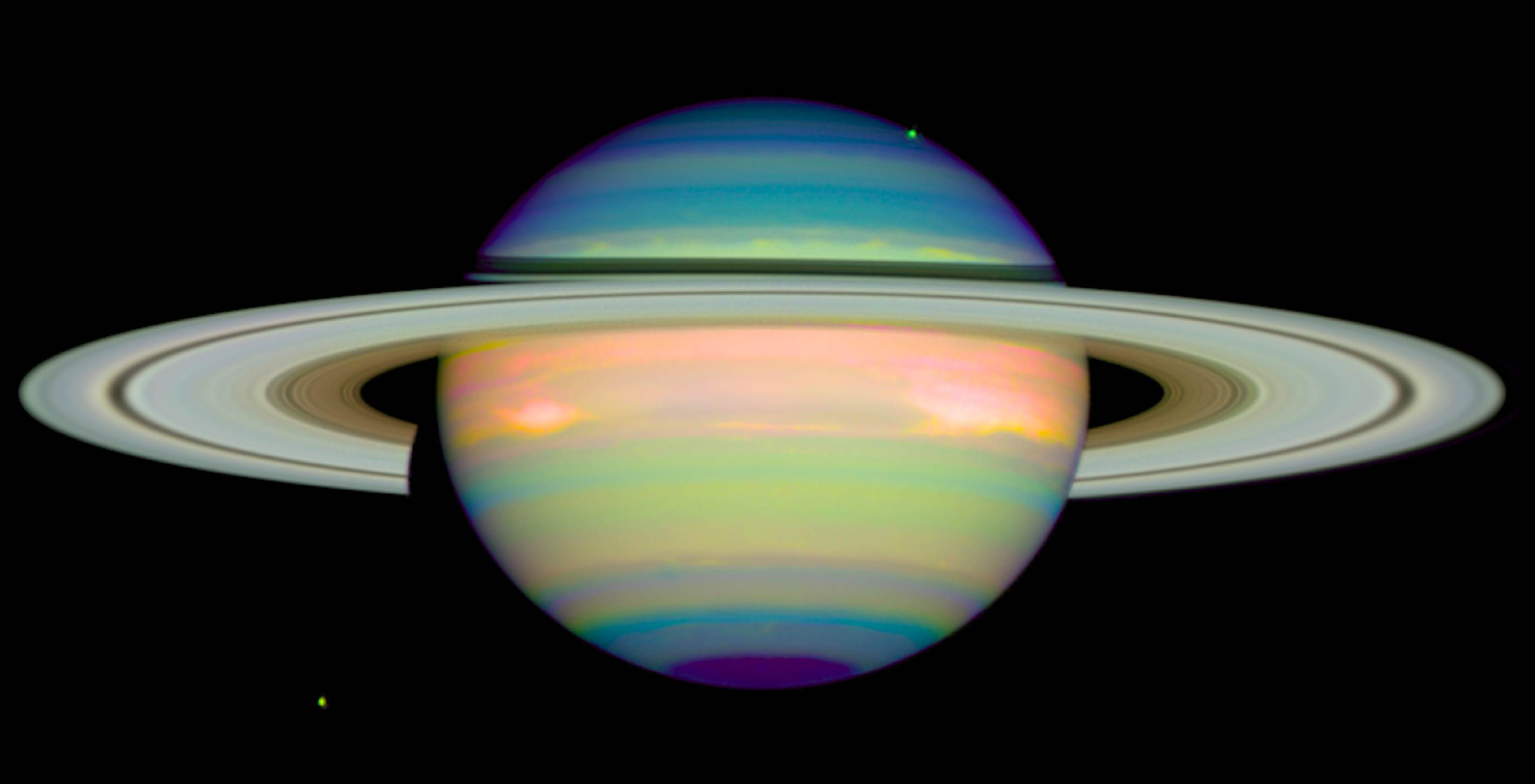 The colors of saturn nasa the colors of saturn altavistaventures Images