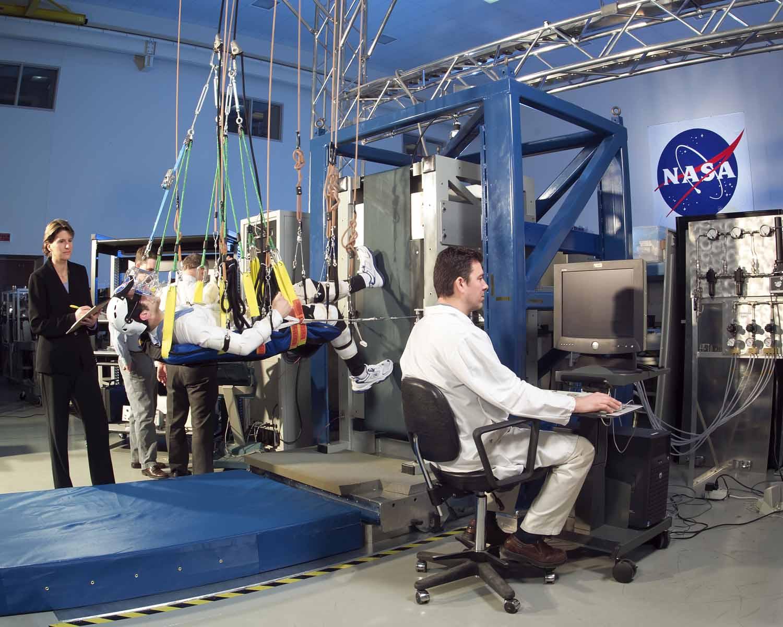 NASA's Floating Treadmill   NASA