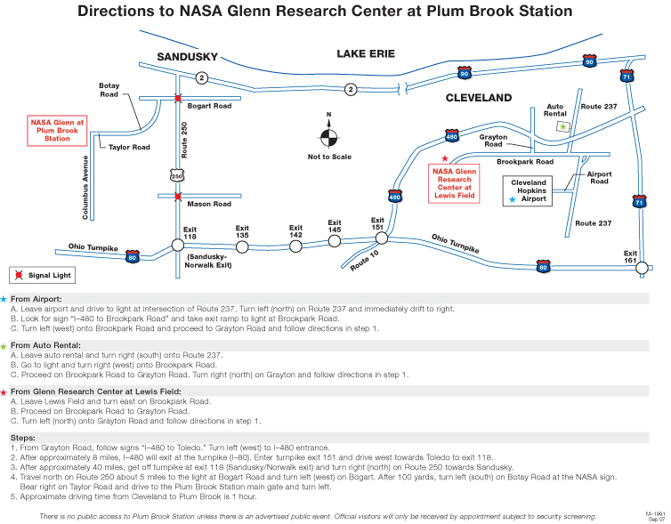 Map and Directions | NASA