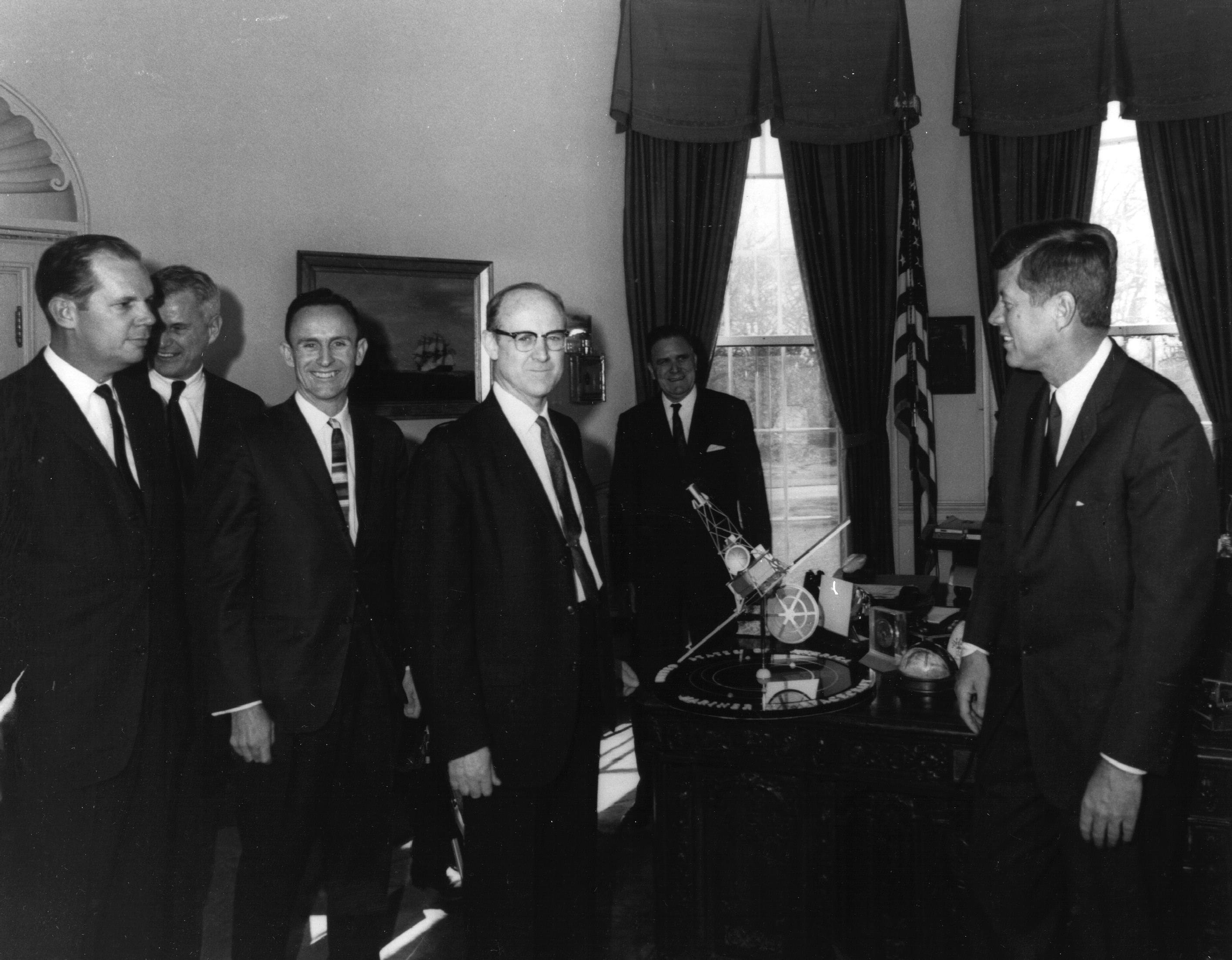 JFK Receives Mariner Model | NASA