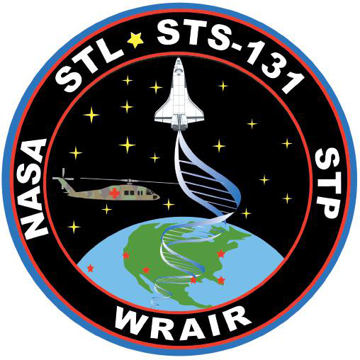 STS-131 STL Patch