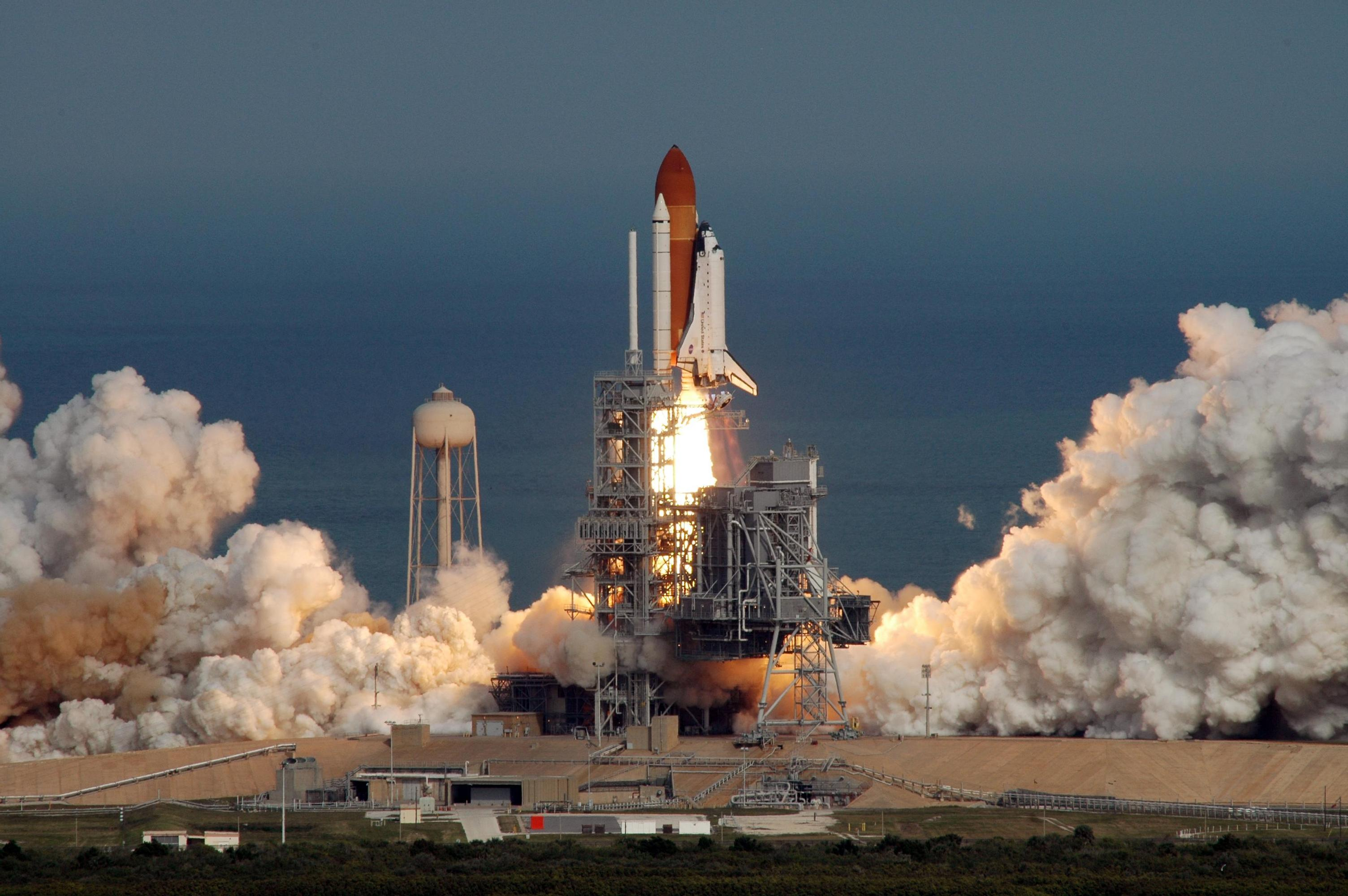 how many space shuttle missions were launched - photo #44