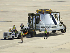 NASA's first Orion full-scale abort flight test crew module