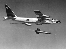 X-15 launch from B-52 mothership in 1959, NASA photo 226348main_E-4942.jpg