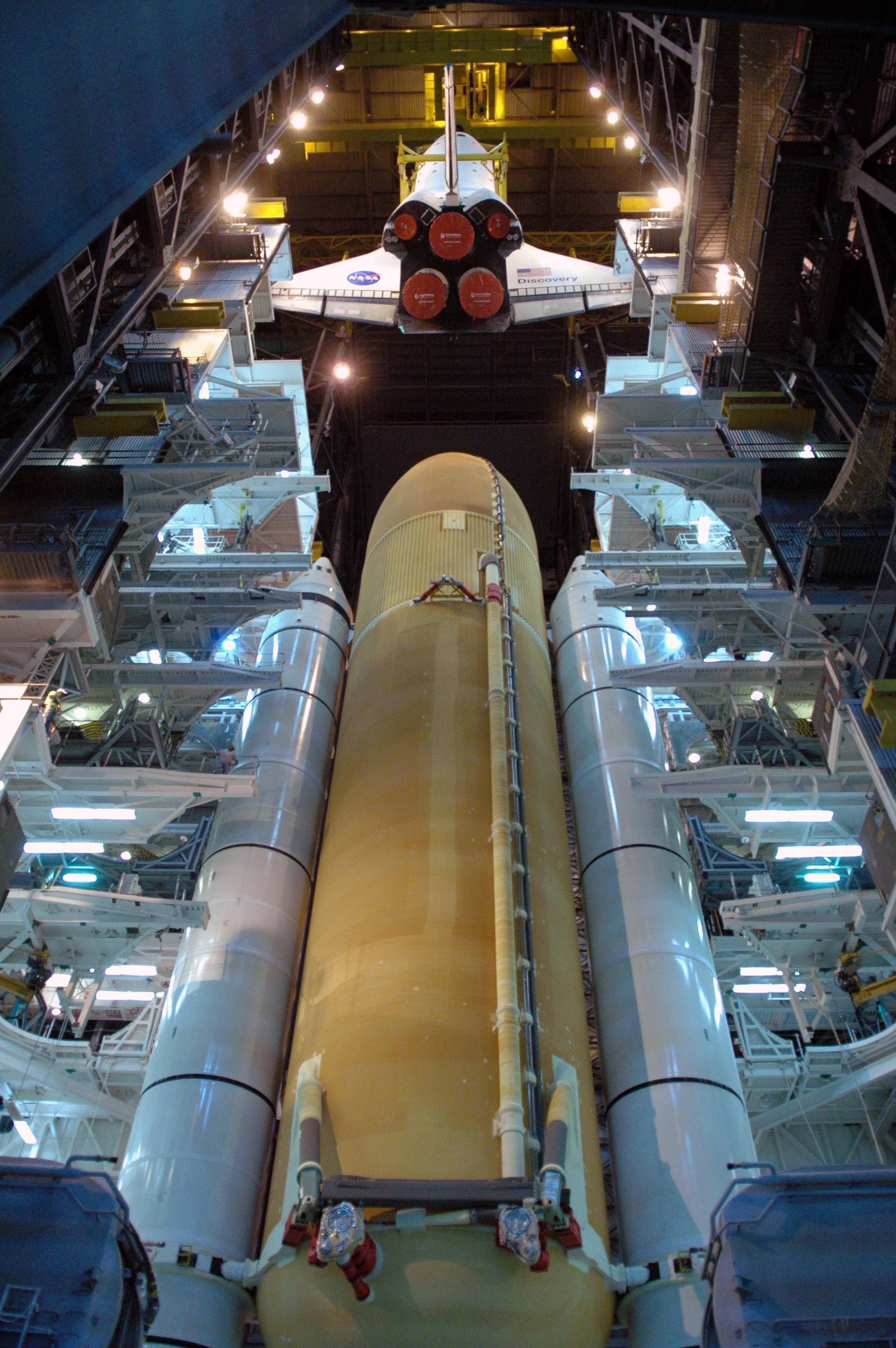 space shuttle solid rocket boster beams - photo #2