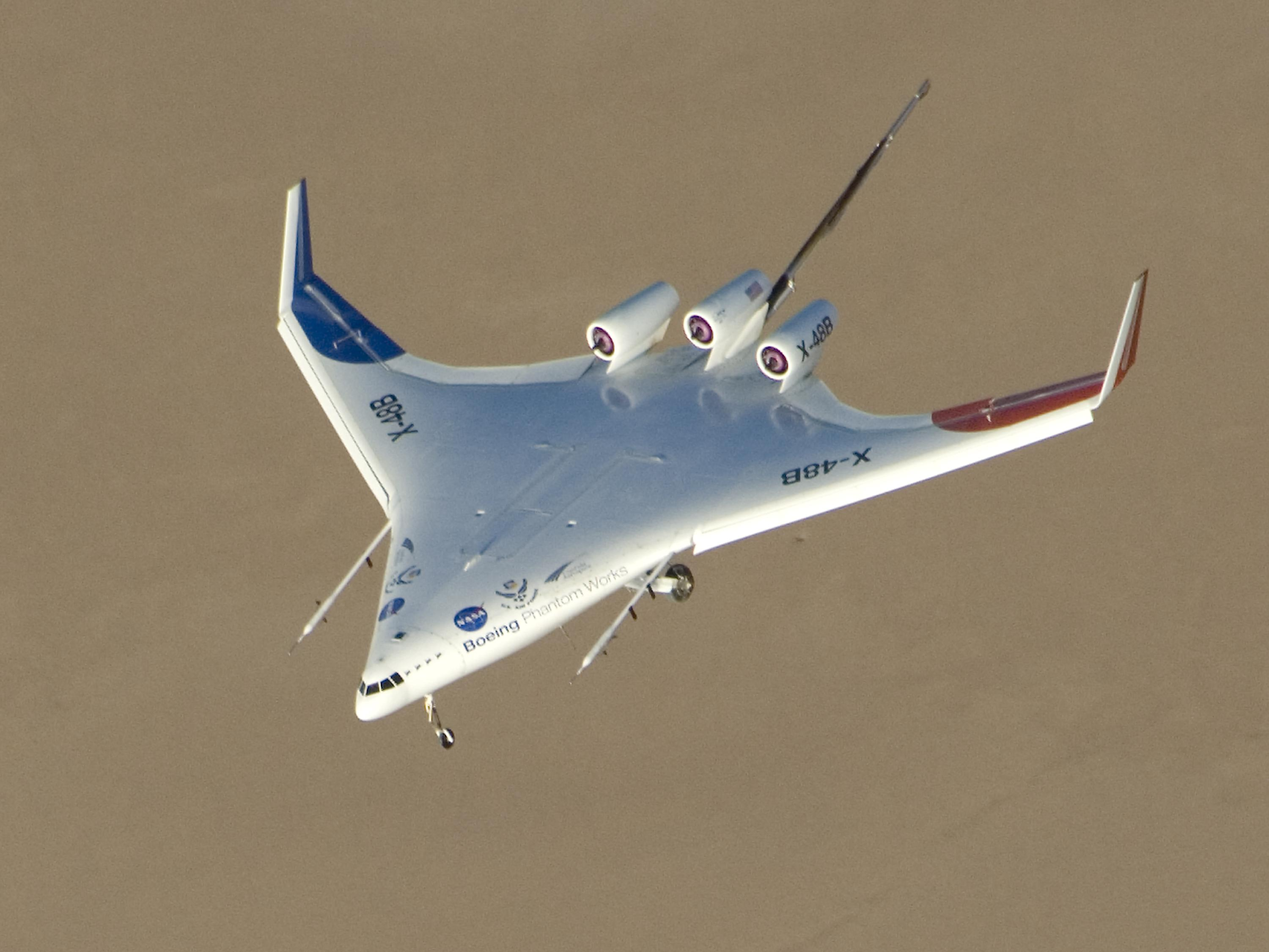 nasa x 48 drone aircraft - photo #22