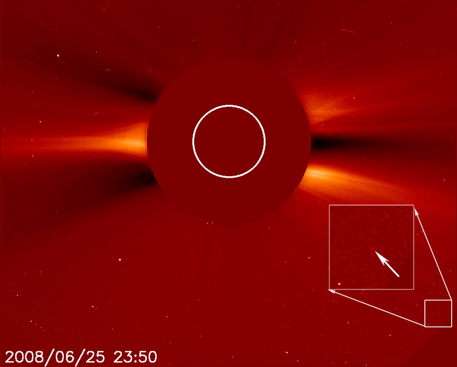 SOHO Celebrates 1,500th Comet Discovery | NASA