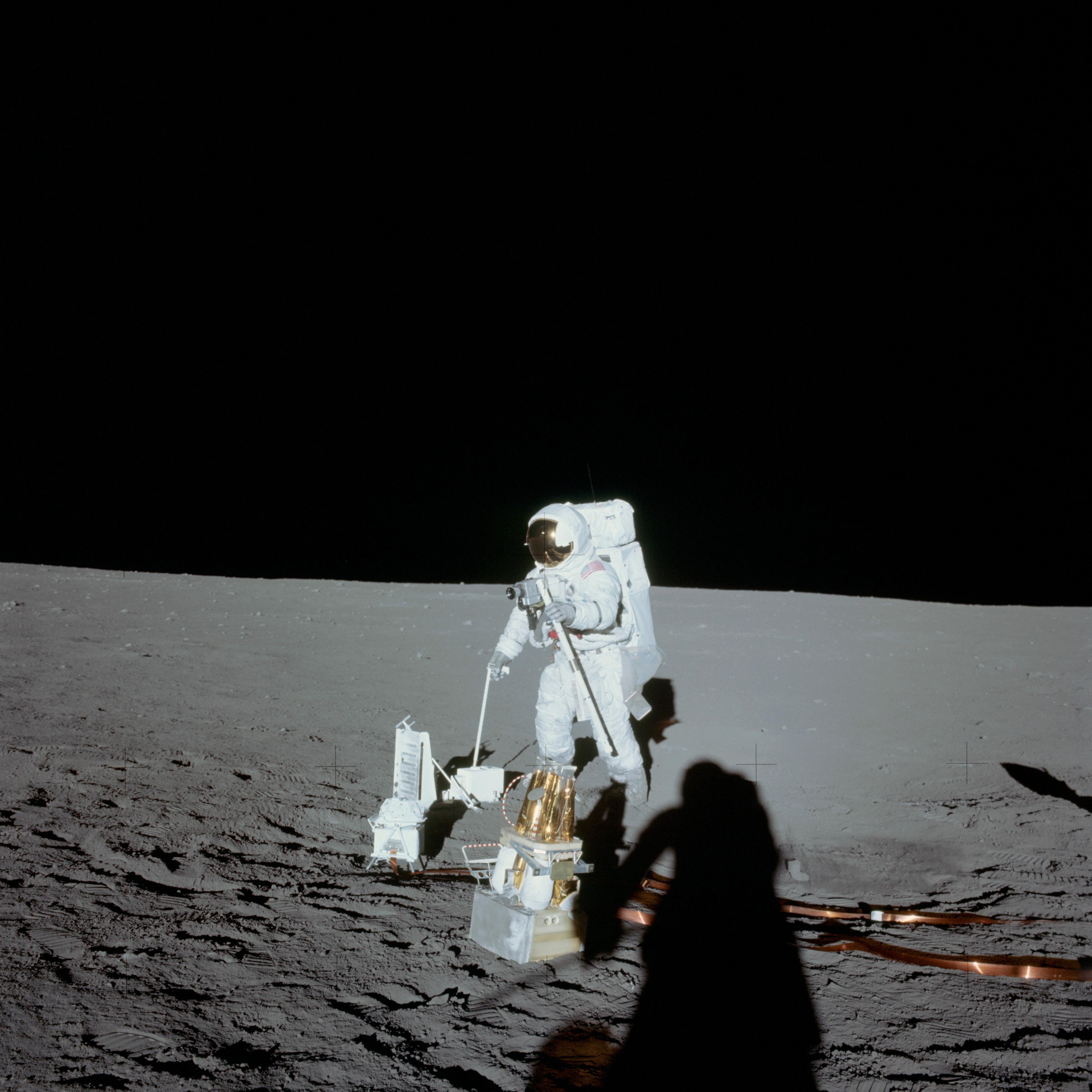 First Spacewalk of Apollo 12 - November 1969 | NASA