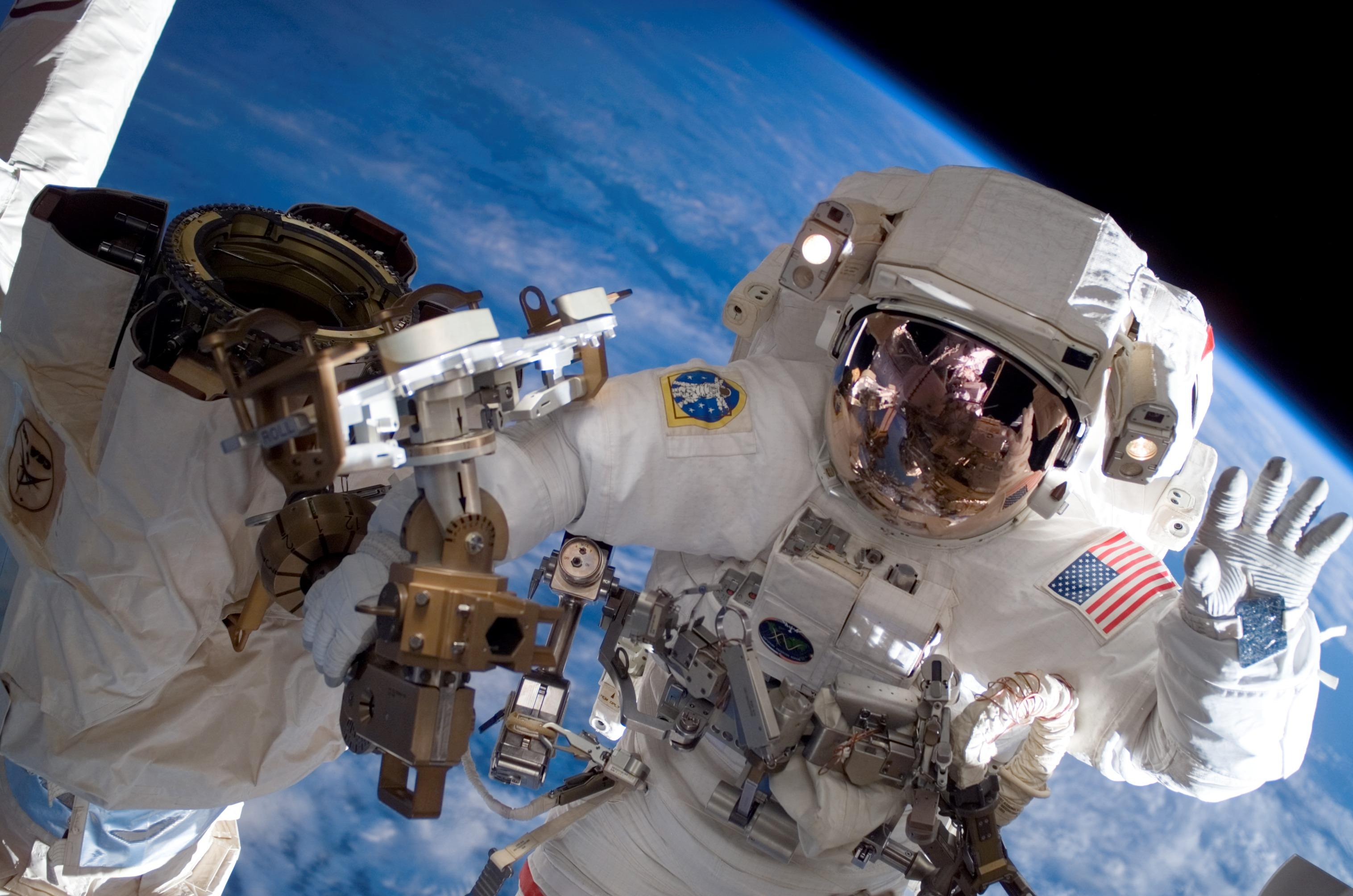 Space Station Spacesuit Image Gallery   NASA