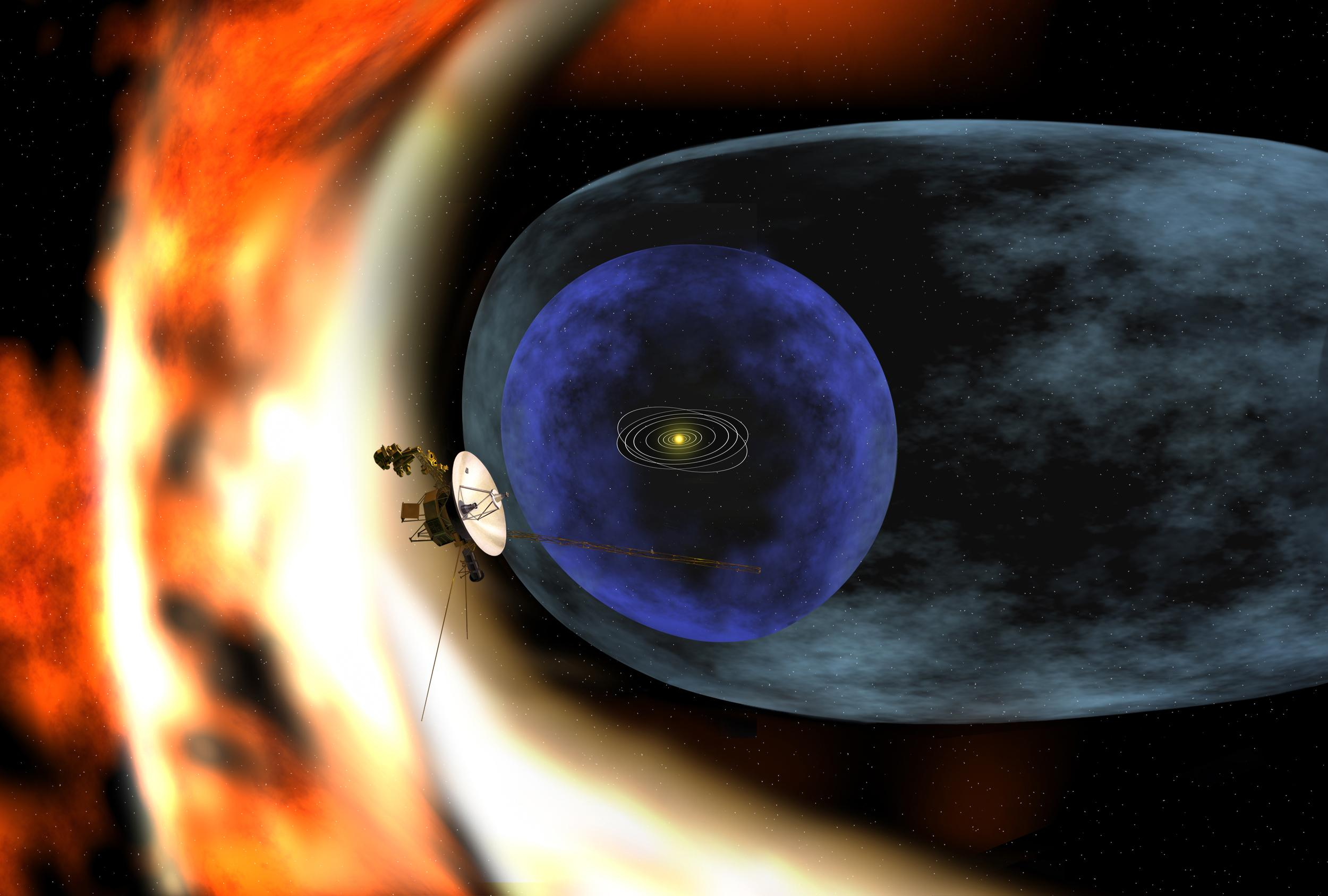 transitional regions at the heliosphere u0027s outer limits nasa